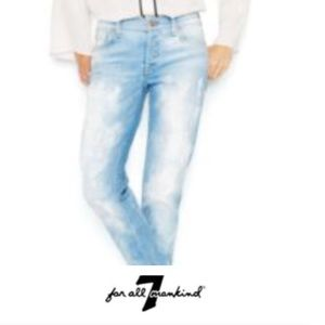 7 for All Mankind The Skinny Destroyed Jeans